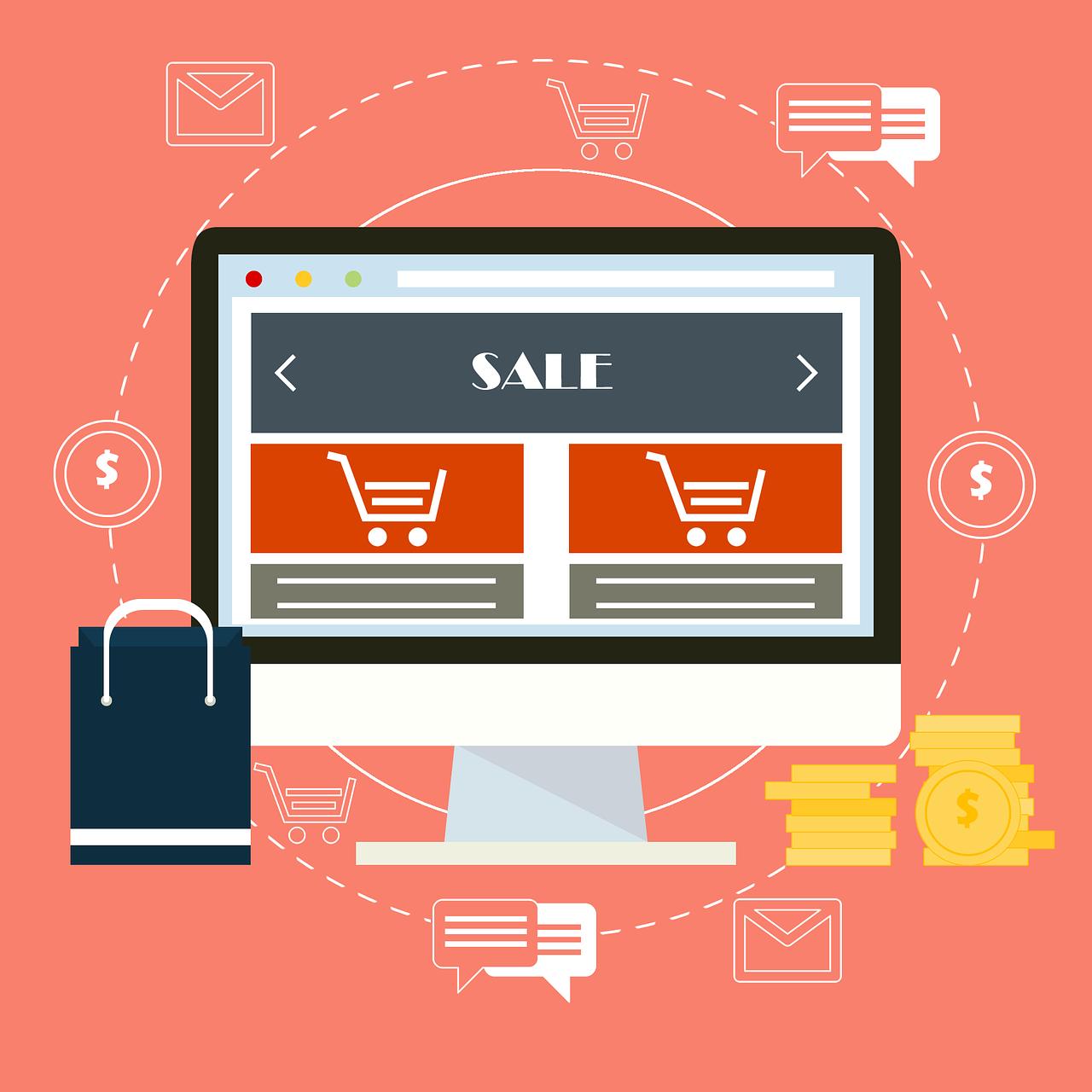 criar um site de vendas
