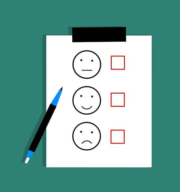 Atendimento ao cliente - pesquisa de satisfação